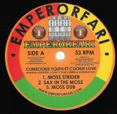 Conscious Youth ft Cookie Love - Moss Strider (Emperorfari) 12""